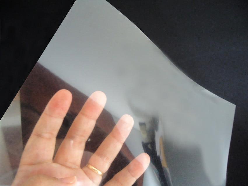 Filme Para Fotolito Transparência Para Impressão Jato De Tinta Para Serigrafia Silk-Screen A-4 c/10