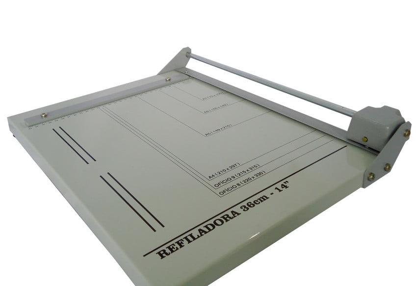 Guilhotina Refiladora Para Papel Scrapbook Foto Artesanato REXR36 Oficio 36cm