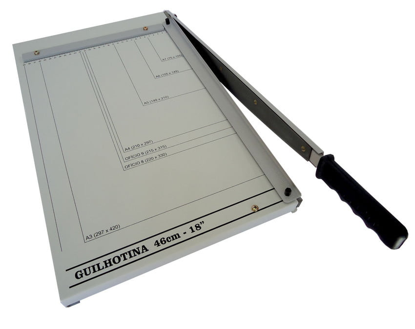 Guilhotina Para Artesanato Papel Holler Papelão Cartonagem A-3 p/20 fls