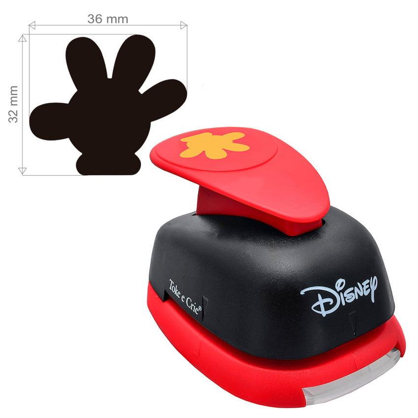 Furador Disney Luva Mickey Para Scrapook Gigante 3,6cm tec