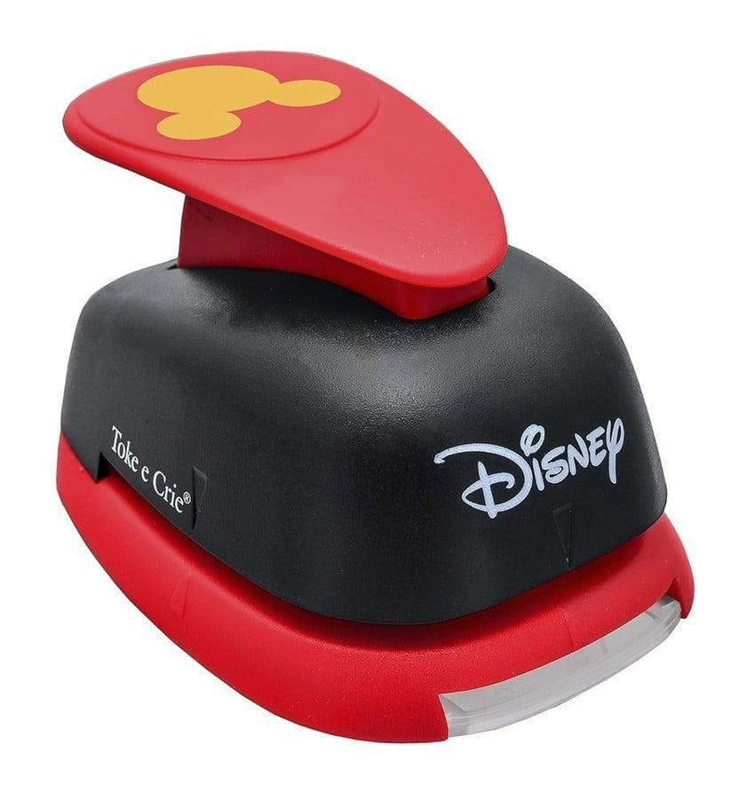 Furador Disney Mickey Para Scrapbook Gigante 3,4cm toc