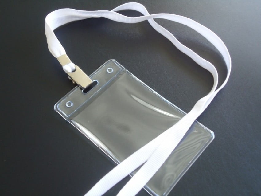 KIT Protetor Pvc P/Cracha Vertical 60x90 + Cordão Poliester Jacare C/100