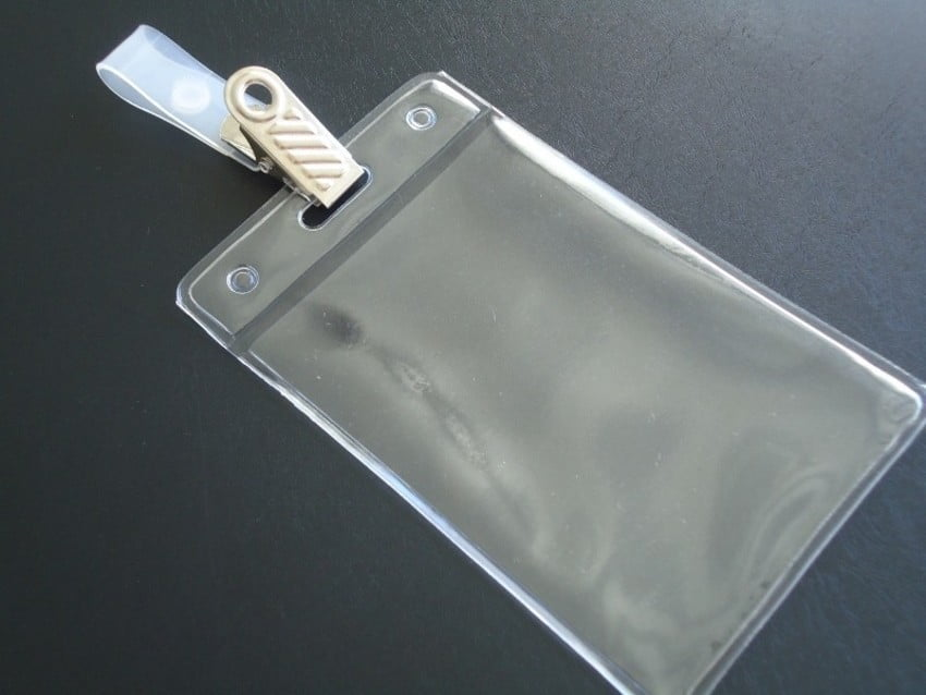 Kit Protetor Pvc P/Cracha Vertical 60x90 + Presilha Jacare Metal C/100