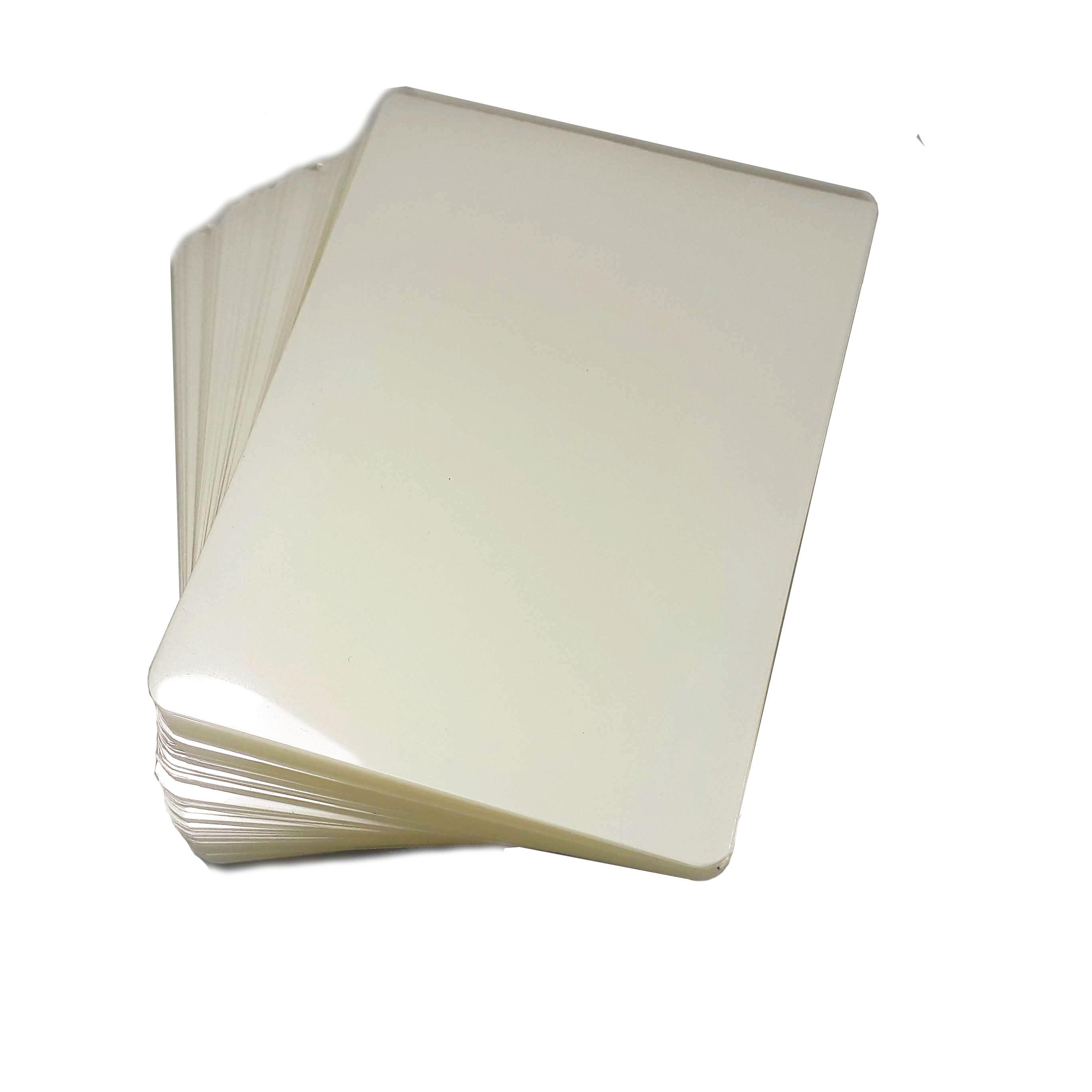 PLASTICO PARA PLASTIFICAÇÃO DOCUMENTO POLASEAL PARA PLASTIFICAR RG 80X110 ESPESSURA 007 175 MICRONS C/100