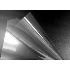 Filme de Poliéster Acetato Transparente 125 Microns 1,30x50M Para Gráfica Industria