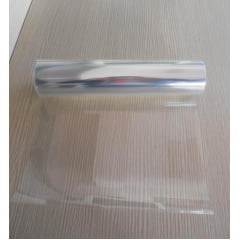 Filme de Poliéster Acetato Transparente 250 Microns 1,30x50M Para Gráfica Industria