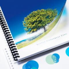 Espiral Plástico p/Encadernação - 23MM INCOLOR p/140 folhas c/60 peças