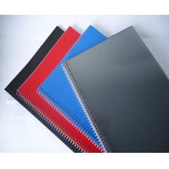 Espiral Plástico p/Encadernação - 40MM Incolor p/350 folhas c/18 peças
