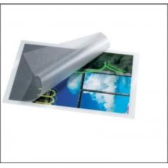 Plastico para Plastificação 1/2 Oficio 170x226 Polaseal Plastificação Espessura 010 c/50 pçs