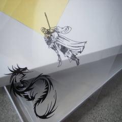 Filme Para Fotolito Transparência Para Impressão Jato De Tinta Para Serigrafia Silk-Screen A-4 c/100