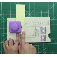 Furador Scrapbook Mini Base Criativa Flores Toke e Crie - 17674 (MBC003)