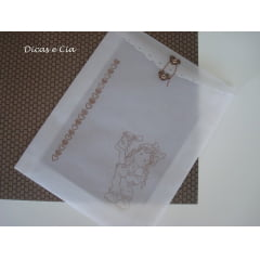 Papel Vegetal para Envelope Artesanato 180gr A-3 (297x420mm) c/50 fls