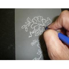 Papel Vegetal para Fotolito Serigrafia 90gr Oficio (216x355MM) C/100FLS