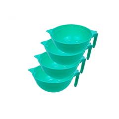 Kit Utensílios para Confeitaria Panelinha Max 1,5L Blue Star C/4