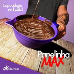 Kit Panelinha Max 1,5L Espátula Para Confeitaria Temperar Chocolate Blue Star C/2
