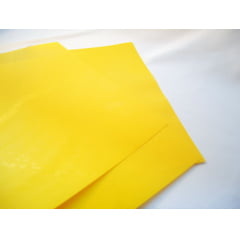 Capa p/Encadernação PP 0,30 A-4 - Amarelo Couro