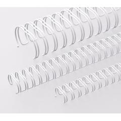 Garra Duplo Anel Wire-o p/ Encadernação A-4 - 1 1/4 p/ 270 folhas