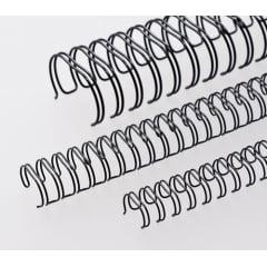Garra Duplo Anel Wire-o p/ Encadernação A-4 - 3/4 p/ 150 folhas