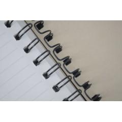 Garra Duplo Anel Wire-o p/ Encadernação A-4 - 3/8 p/ 60 folhas