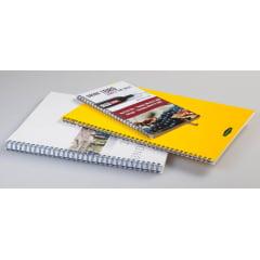 Garra Duplo Anel Wire-o p/ Encadernação A-4 - 7/8 p/ 180 folhas