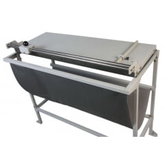 Refiladora Grande Formato Faca rotativa EXR-1500 larg 1500mm Com Mesa