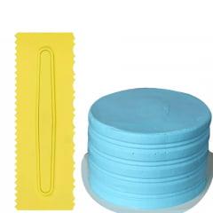 Espatula Decorativa Blue Star P/confeitaria Mod 2