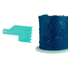 Kit Mini Espatula Decorativa C/8 Pçs 8 Efeitos Blue Star
