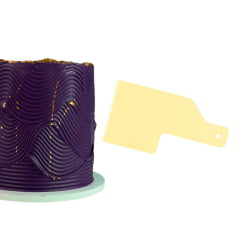 Kit Mini Espatula Decorativa C/8 Pçs 8 Efeitos Blue Star Amarela