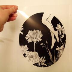 Filme Para Fotolito Transparência Para Impressão Jato De Tinta Para Serigrafia Silk-Screen A-4 c/50