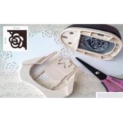 Furador Cantoneira Rosa 15098 Toke E Crie Para Scrapbook