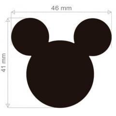 Furador Disney Cabeça Mickey Para Scrapbook Extra Gigante 4,6cm Toke e Crie 19531