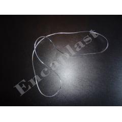 Cordão para Crachá e Credencial Silicone com Solda c/25 peças