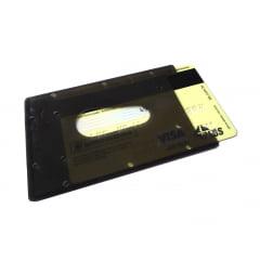 Protetor Rígido p/ Cartão Magnético e Crachá c/100 peças cor única