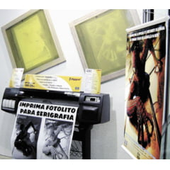Filme Para Fotolito Opaco Para Impressora Plotter Jato de Tinta 914mm