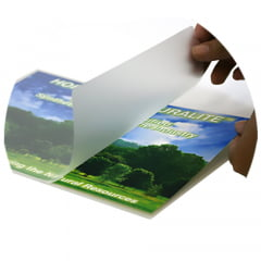 Plastico Para Plastificação Polaseal A-4 220x307 esp 005 c/25 pçs