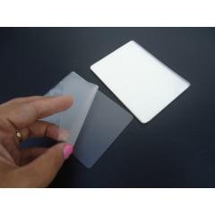 Plastico Para Plastificação Documento Polaseal Para Plastificar RG 80x110 Espessura 005 125 microns c/100